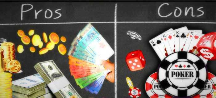 آیا می دانستید که جوانب مثبت و منفی یک بازیکن پوکر حرفه ای بودن در چیست