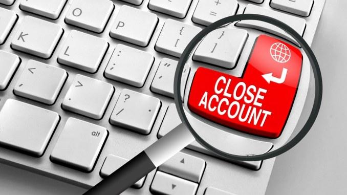 مسدود شدن حساب های کاربری در سایت های شرط بندی