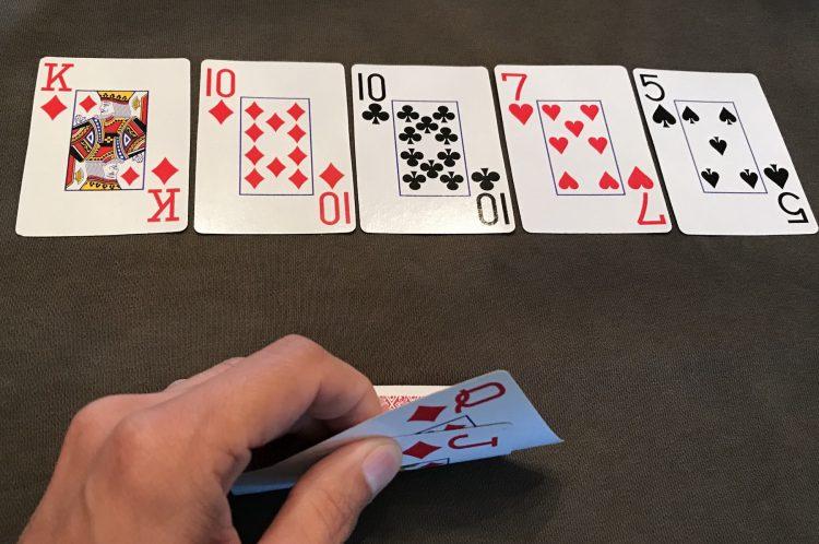 فلاش-دراو (Flush Draw) در بازی پوکرفلاش-دراو (Flush Draw) در بازی پوکر